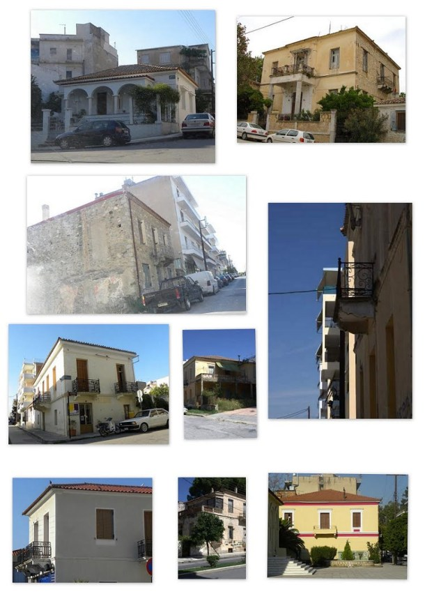 Collage Old houses image