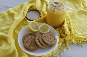 Lemon curd with our lemons image