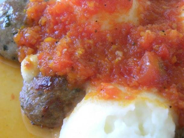 Meatballs with marinara sauce image