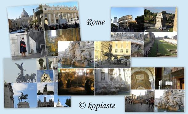 Rome collages image