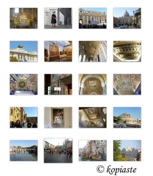 collage Rome for blog 1