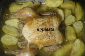 Kotopoulo Psito sto Fourno (Greek Roasted Chicken)