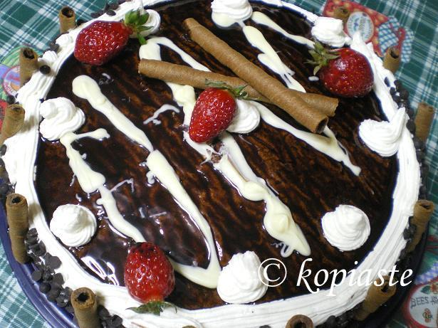 A Strawberry Cake for Elia