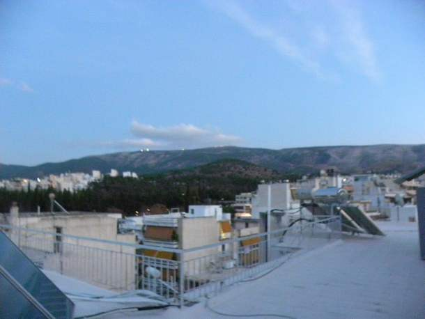 Hymettus from roof of my house