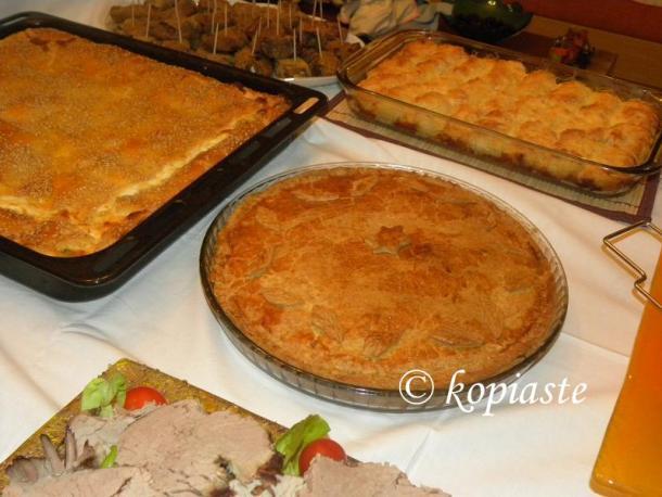 Manitaropita mushroom pie image