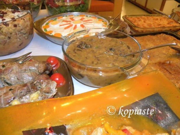 Food for the feast of St. George image