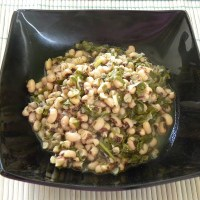 Louvi – Black eyed Peas with Chard