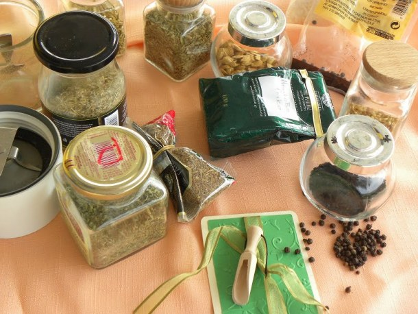 various spices image