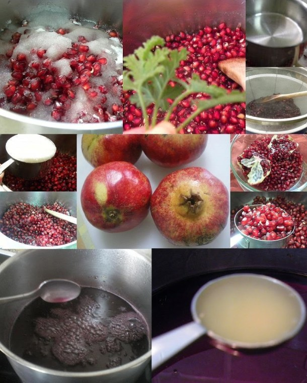 Collage Pomegranade syrup image