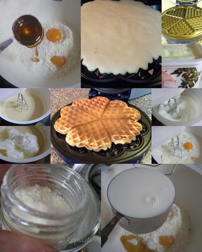 Collage Waffles