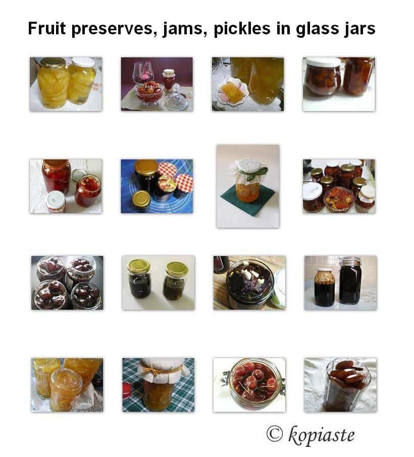 Collage jars