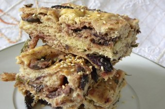 Lagana focaccia with Olives image