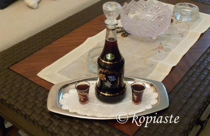 Espresso Cherry Liqueur in five minutes