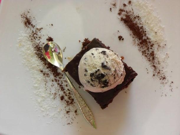 Olive Oil Beetroot Chocolate Karydopita image