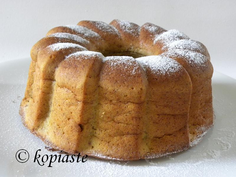 Orange & Strawberry Cake