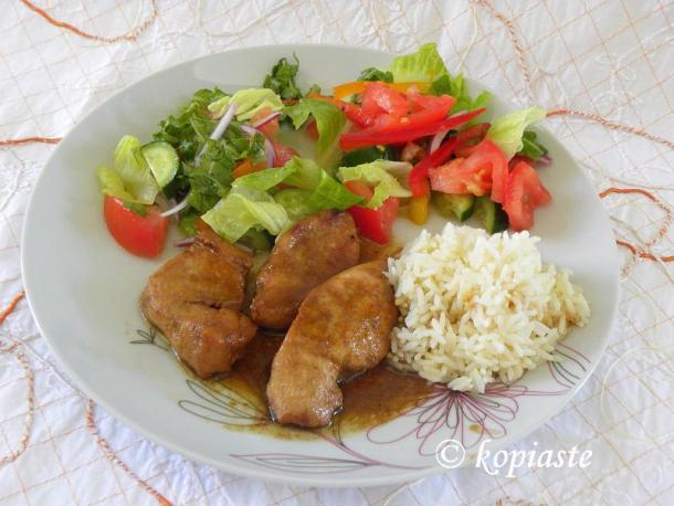 Chicken Teriyaki with Orange