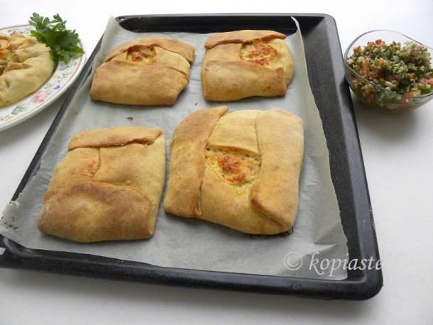 chicken galette rectangular image