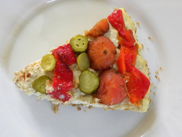 Savoury Greek Cheesecake picture
