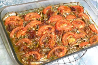 Baked anchovies image