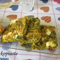 Plastos, Spanakopita from Thessaly and Epirus, Ressi and Kolokythopita (Zucchini Pie)