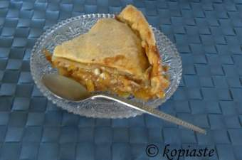 kolokythopita Greek sweet pumpkin pie