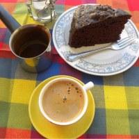 Chocolate and Petimezi Ginger Cake