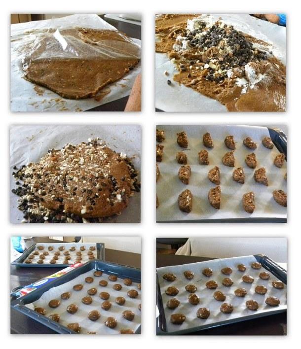 collage Petimezi Chocolate Cookies image