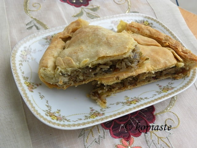 Manitaropita mushroom pie3