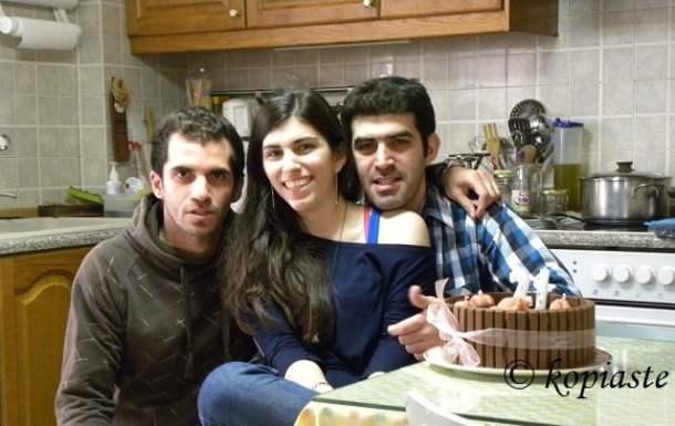 George Kyriacos and Elia