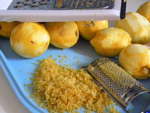 Lemon zest image