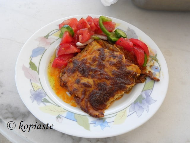 Vegetarian Moussakas