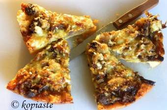 Onion and Sausage Tart image