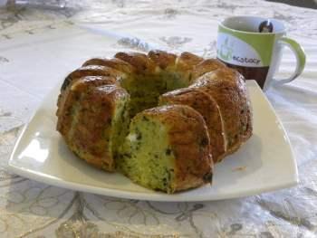 zucchini savoury cake image