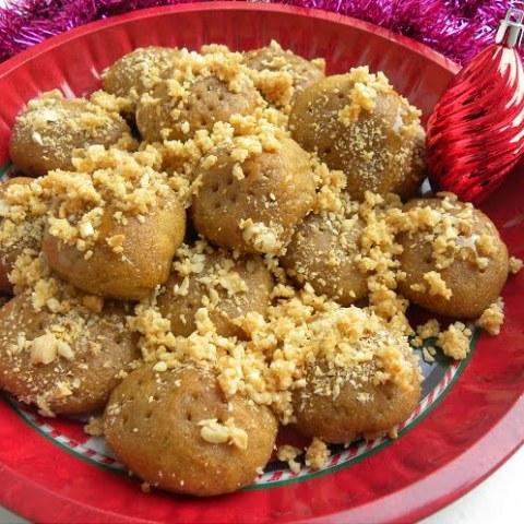 Mandarin Melomakarona