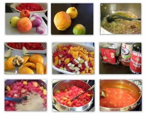 Collage2 Tomato Chutney