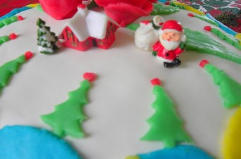 Sugar paste decorations image
