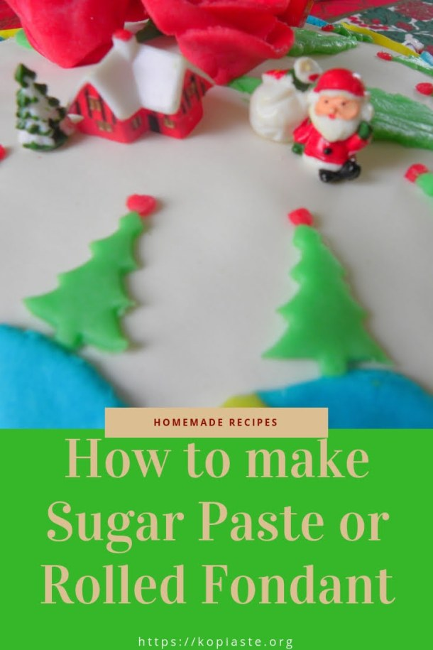 collage How to make sugar paste image