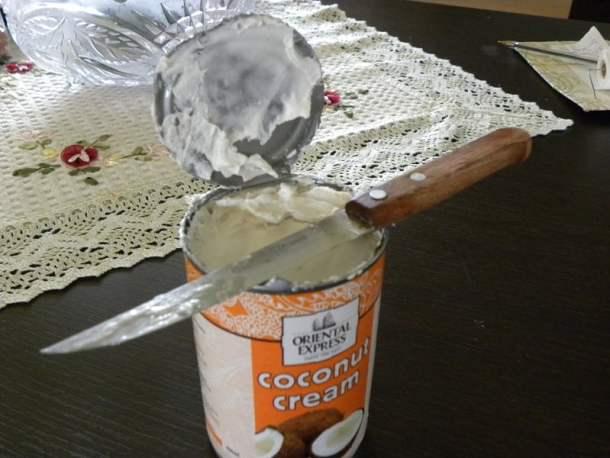 vegan coconut cream image