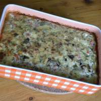 Baked Greek Style Moussakas Frittata