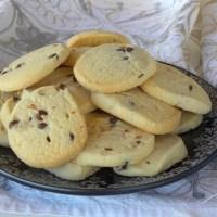 Lavender-Lemon Shortbread Cookies