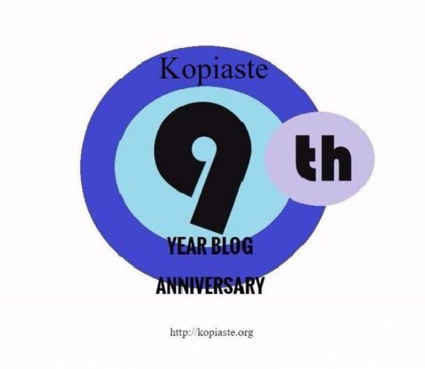 9th year blog anniversary