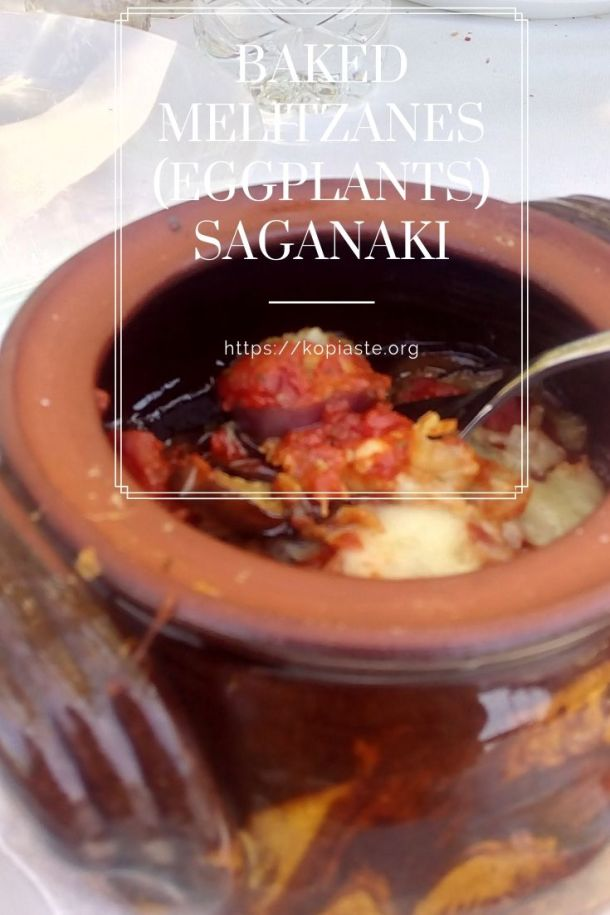 Baked Melitzanes (Eggplants) Saganaki image