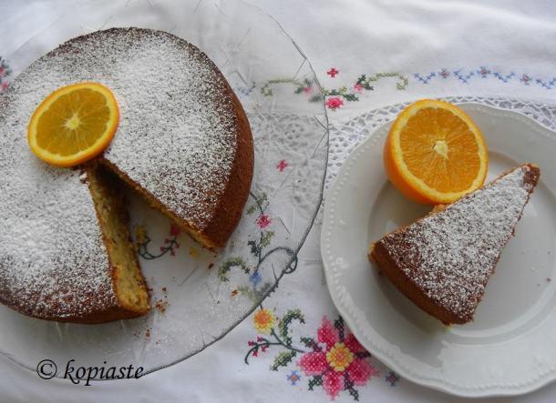 Greek Olive Oil Orange Cakes