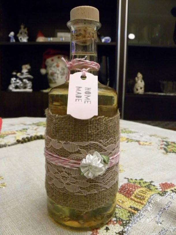 Home made Mandarin liqueur image