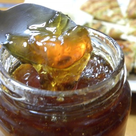 Bergamot Marmalade from Leftovers