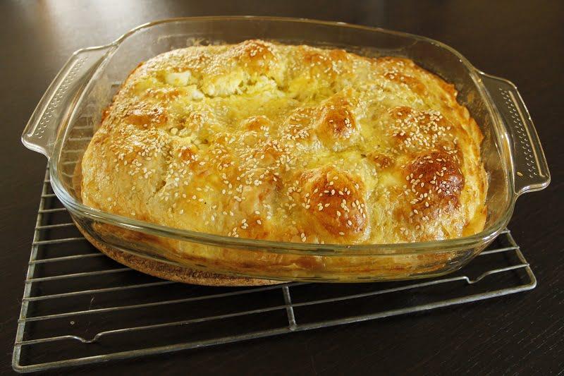 Greek Creased Cheese Pie (Patsavouropita)