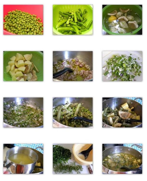 Collage Koukia me Agginares image