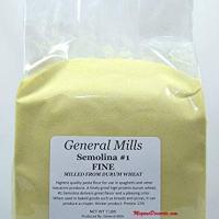 General Mills Semolina flour #1 Enriched - 7 lbs REPACK