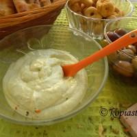 Greek Yoghurt, Feta and Pesto Dip