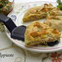 Video with easy way to roll out Phyllo and make Kotopita (Chicken Galette)